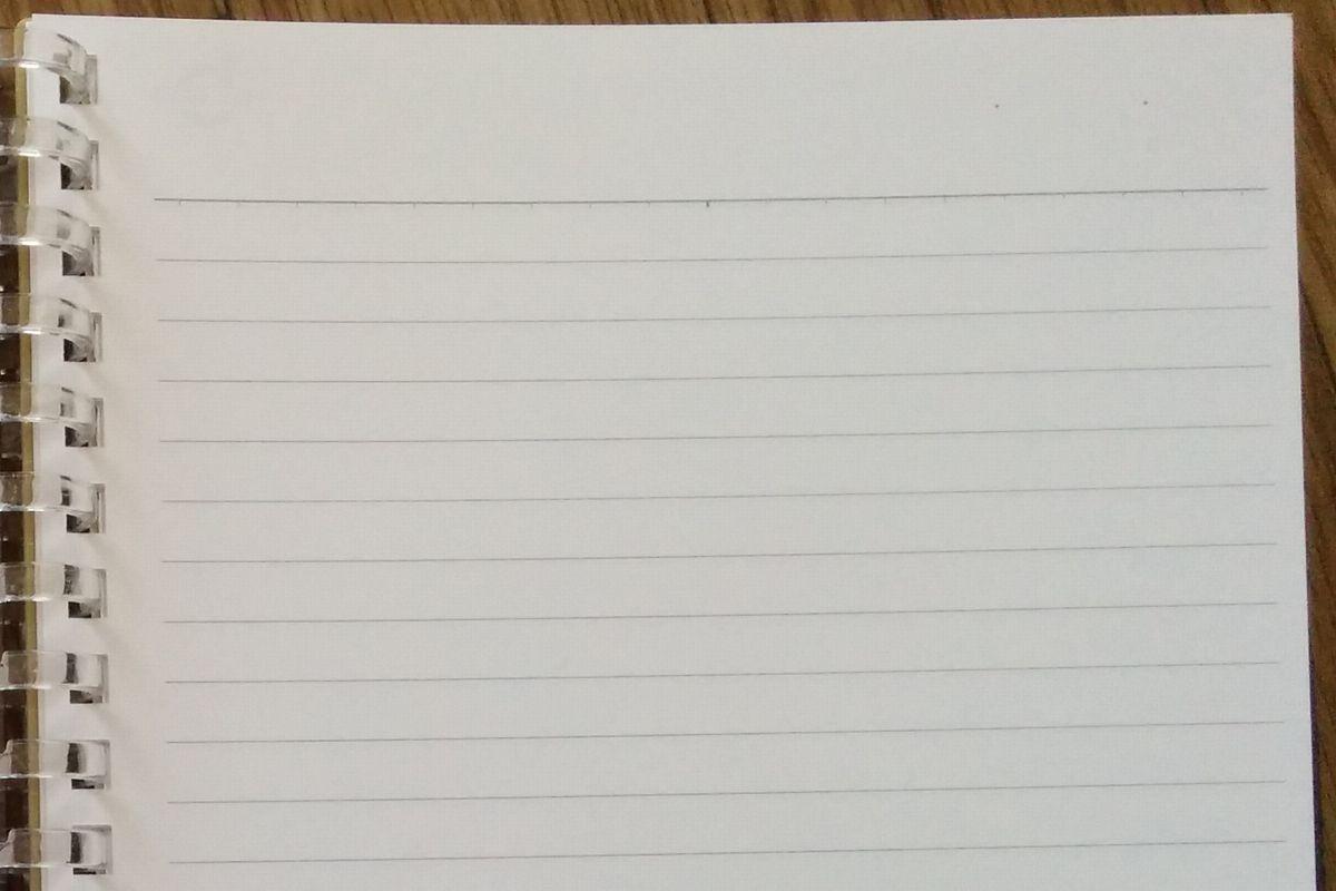 右側はノート