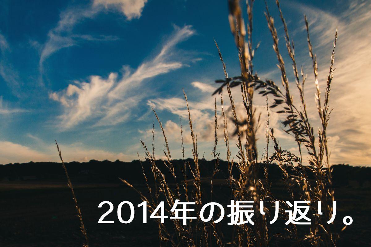 2014年の個人的9大ニュース