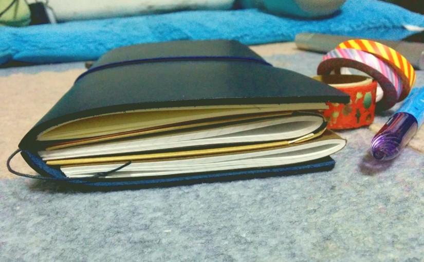 トラベラーズノートを買いました
