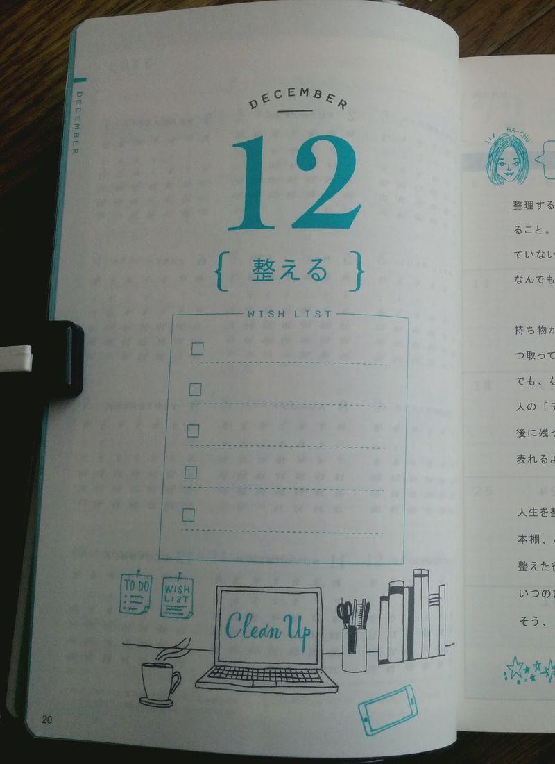 週末野心手帳の月ごとのテーマ