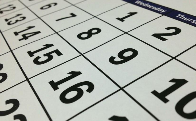 【配布物】2016年度 祝日対応エクセルカレンダー