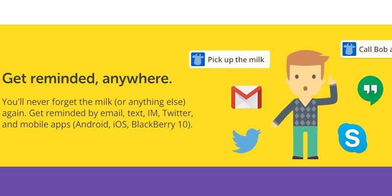 (使用用途が)細かすぎて伝わらない『Remember The Milk』【Twitter連携編】