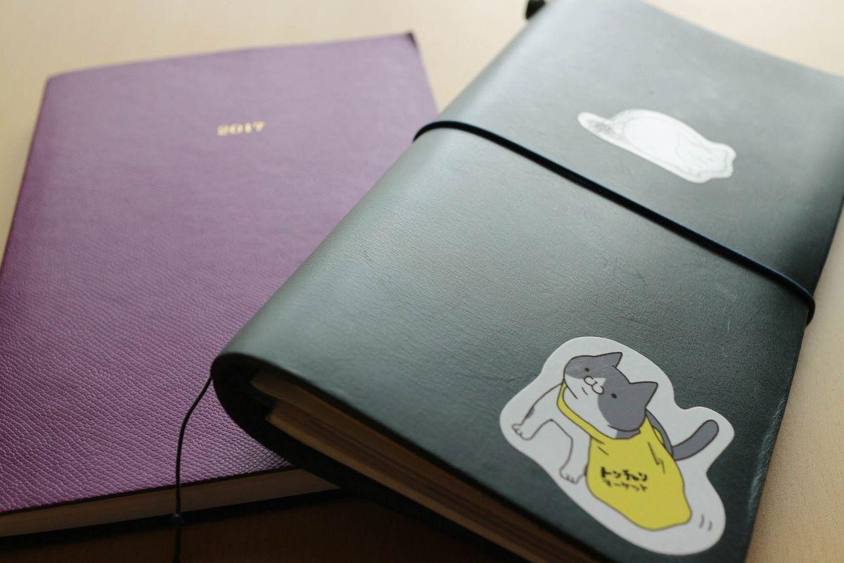 8月の手帳の使い方【トラベラーズノート × バレットジャーナル】