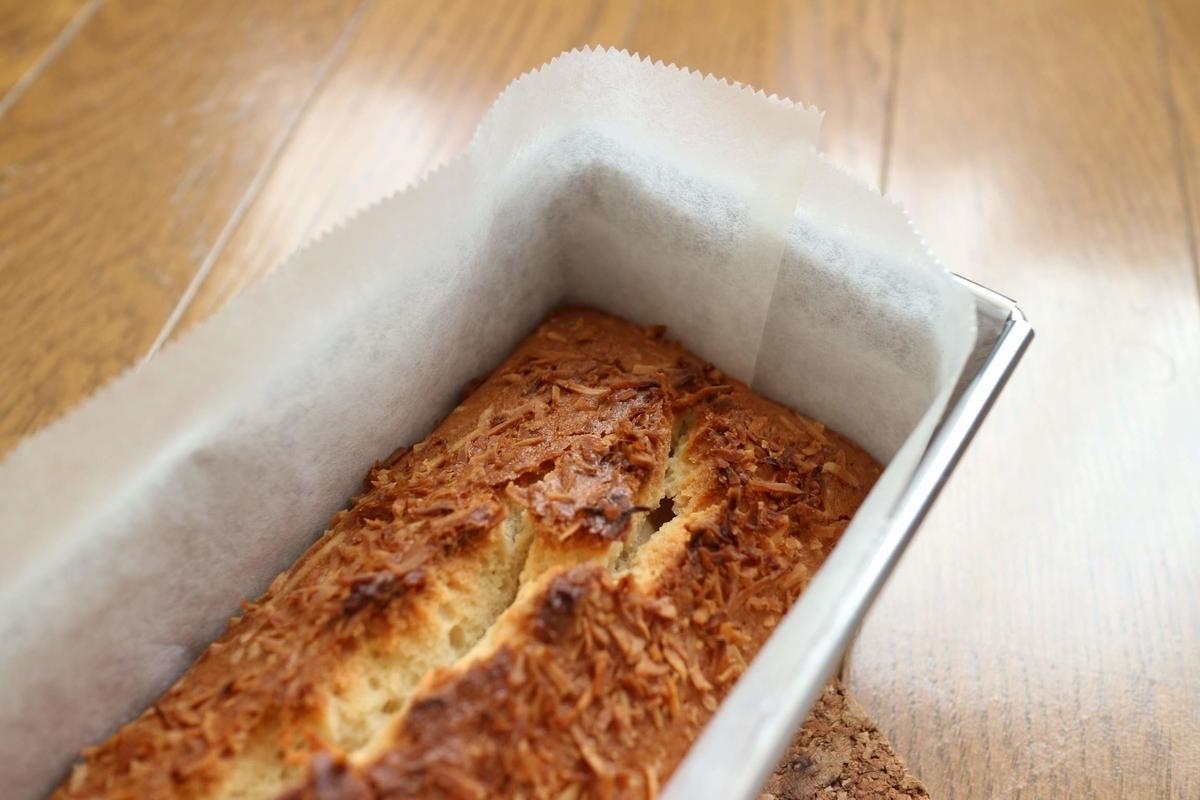 バターを使わないレシピの基本のパウンドケーキ